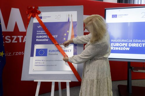 official opening of EUROPE DIRECT